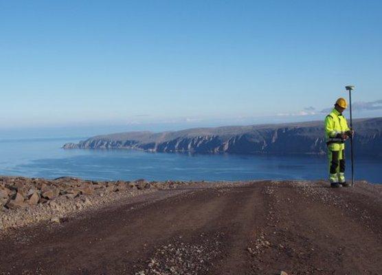 Båtsfjord - Hamnefjell vindkraft