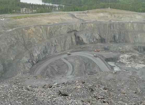 Svappavaara Cliffton mining