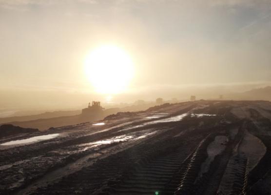 Gallivare - Aitik - Sandmagasin